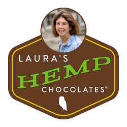 Laura's Hemp Chocolates Logo