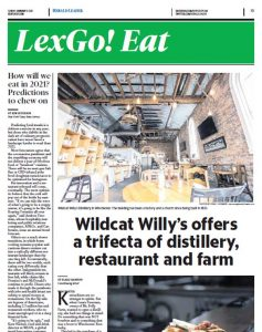 Mt. Folly Farm and Wildcat Willy's in the Lexington Herald.